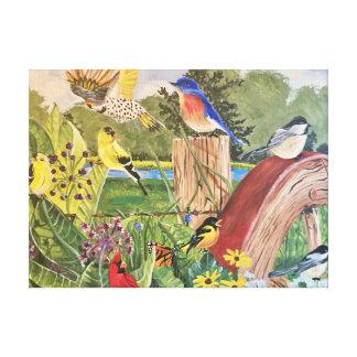 Impressão Em Canvas Primavera