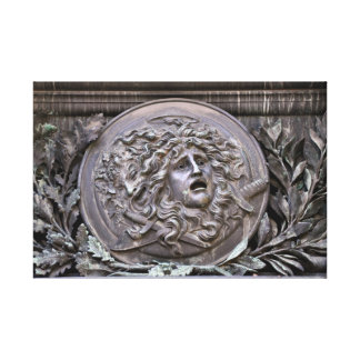 Impressão Em Canvas Protetor do Medusa de Athena