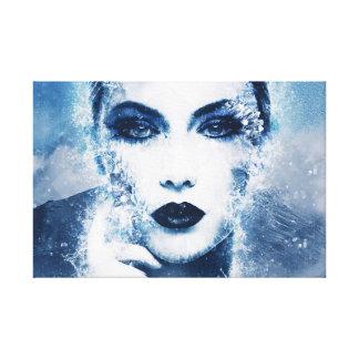 Impressão Em Canvas Rainha do gelo