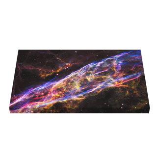 Impressão Em Canvas Resto do Supernova da nebulosa do véu