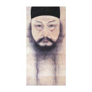 Impressão Em Canvas Retrato de auto do YUN Du-seo