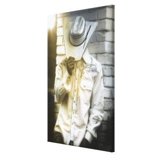 Impressão Em Canvas Retrato do vaqueiro
