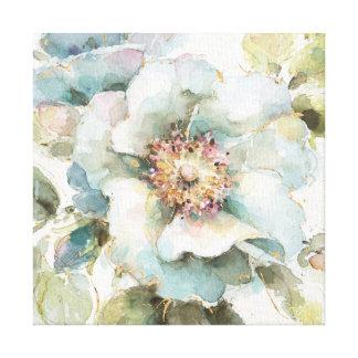 Impressão Em Canvas Rosa do azul