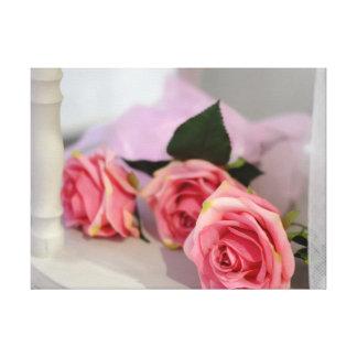 Impressão Em Canvas Rosas do casamento