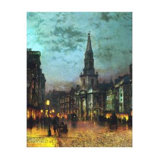 Impressão Em Canvas Rua de John Atkinson Grimshaw Blackman, Londres