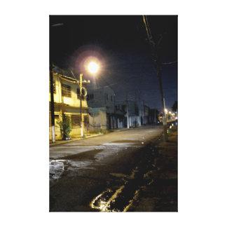 Impressão Em Canvas Ruas traseiras Kingston do centro Jamaica do