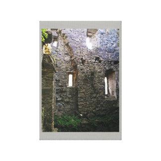 Impressão Em Canvas Ruínas de Caulfied do castelo