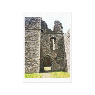 Impressão Em Canvas Ruínas do castelo