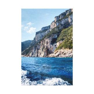 Impressão Em Canvas Sardinia, costa leste, perto de Cala Gonone
