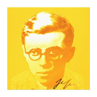 Impressão Em Canvas Sartre
