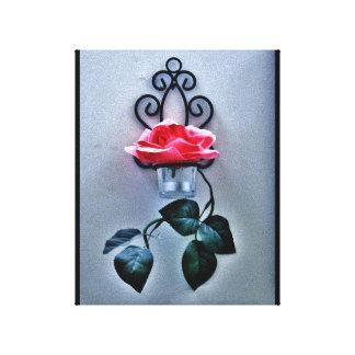 Impressão Em Canvas Sconce do rosa da magenta