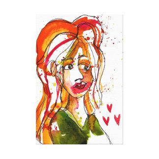 Impressão Em Canvas Semi Auto-Retrato 2
