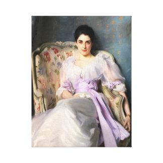 Impressão Em Canvas Senhora Agnew de John Singer Sargent de Lochnaw