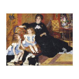 Impressão Em Canvas Senhora Georges Charpentier de Auguste Renoir
