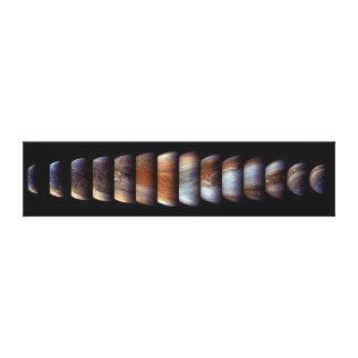 Impressão Em Canvas Seqüência da aproximação da nave espacial de Juno
