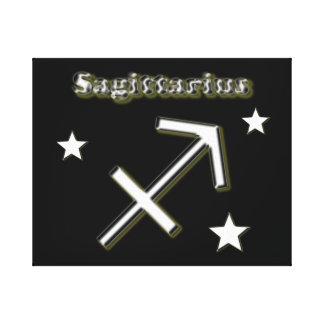 Impressão Em Canvas Símbolo do cromo do Sagitário