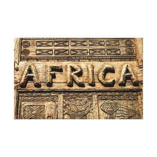 Impressão Em Canvas Sinal de África