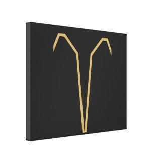 Impressão Em Canvas Sinal do zodíaco do Aries básico