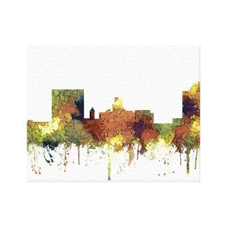 Impressão Em Canvas Skyline de Augusta Geórgia. Lustre do SG-Safari
