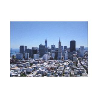 Impressão Em Canvas Skyline de San Francisco