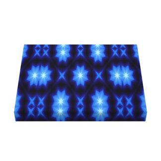 Impressão Em Canvas solteiro da estrela 8 da estrela do triângulo