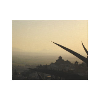 Impressão Em Canvas Solteiro da foto da espanha da cidade de Granada