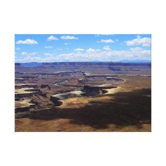 Impressão Em Canvas Sombras sobre Canyonlands