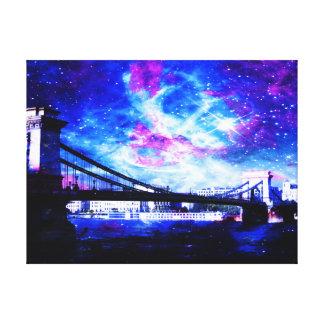 Impressão Em Canvas Sonhos do Budapest do amante