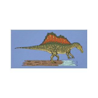 Impressão Em Canvas Spinosaurus