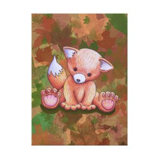 Impressão Em Canvas Sr. Fox