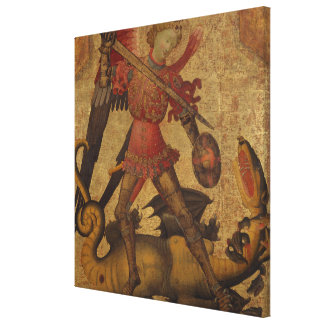 Impressão Em Canvas St Michael e o dragão