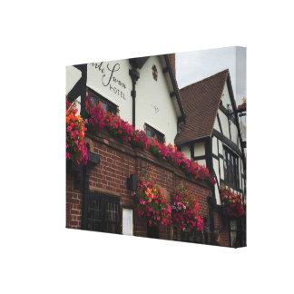 Impressão Em Canvas Stratford em cima da foto BRITÂNICA do hotel de