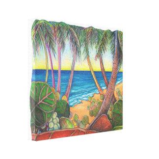 Impressão Em Canvas Stroll do beira-mar
