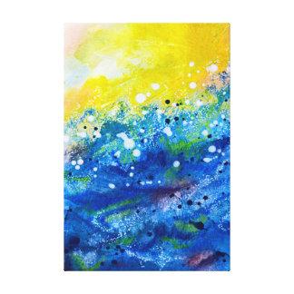 Impressão Em Canvas Sun grande, surf grande