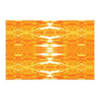 Impressão Em Canvas Tapeçaria alaranjada 6 SDL C