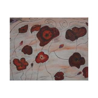 Impressão Em Canvas Tapete floral