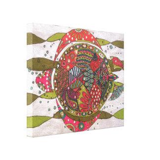 Impressão Em Canvas Tartaruga