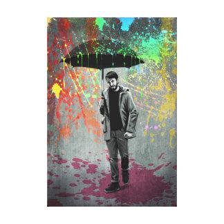Impressão Em Canvas Tempestade da arte