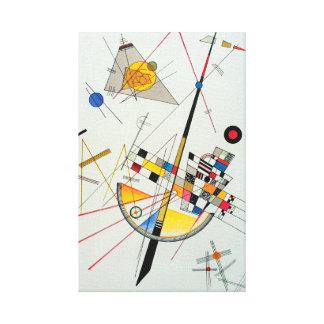 Impressão Em Canvas Tensão delicada por Wassily Kandinsky