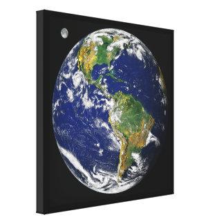 Impressão Em Canvas Terra, como visto do espaço, em abril de 2000
