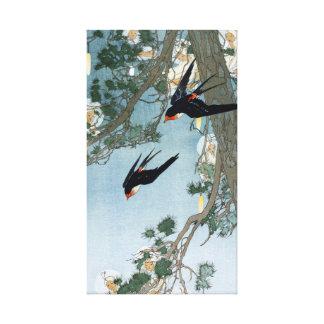 Impressão Em Canvas Terra de Bertha Lum do Bluebird