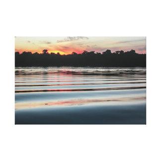 Impressão Em Canvas The Amazon landscapes - Rio Negro
