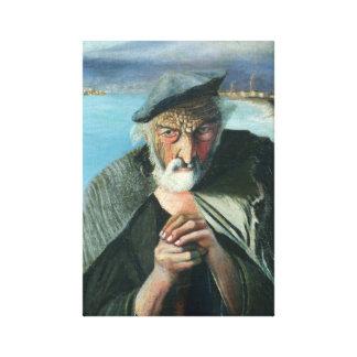 Impressão Em Canvas Tivadar Csontváry Kosztka o pescador idoso