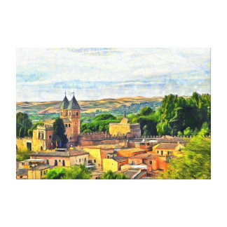 Impressão Em Canvas Toledo. Porta de Puerta de Bisagra Nueva