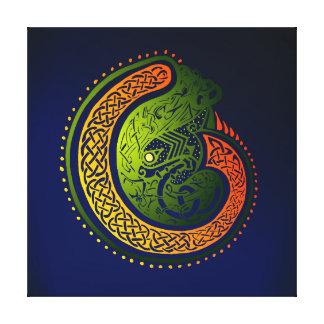 Impressão Em Canvas Torção celta