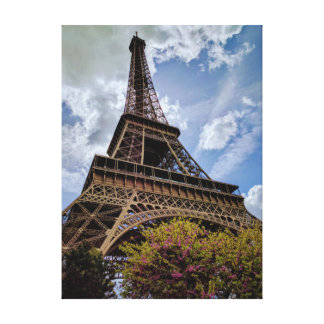 Impressão Em Canvas Torre Eiffel