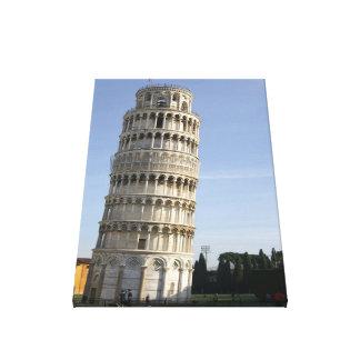 Impressão Em Canvas Torre inclinada de Pisa