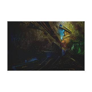 Impressão Em Canvas Trabalhos de arte distorcidos