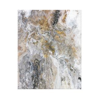 Impressão Em Canvas Trabalhos de arte pretos cinzentos do branco do