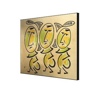 Impressão Em Canvas Três Fishers pelo rafi talby